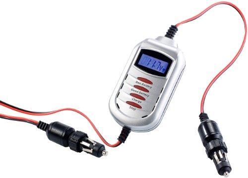 Lescars Starterhilfe: Premium Kfz-Starter-Kit für den Zigarettenanzünder, 4m-Kabel (Kfz Starterkabel)