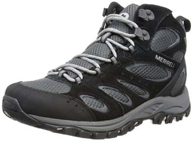 Merrell Tucson Mid Wtpf, Chaussures de randonnée homme - Noir (Black), 41 EU