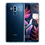 NEW'C Coque Huawei Mate 10 Pro, Coque de Protection avec Absorption de Choc et Anti-Scratch [ULTRAT RANSPARENTE Silicone en Gel TPU Souple] pour Huawei Mate 10 Pro