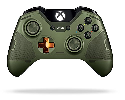 Xbox One Limited Edition Halo 5: Guardians Master Chief Wireless Controller 41tkXBjVgoL