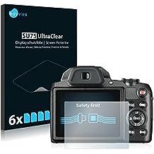 Savvies Pellicola Protettiva per Pentax XG-1 Protezione Schermo [6 Pack]