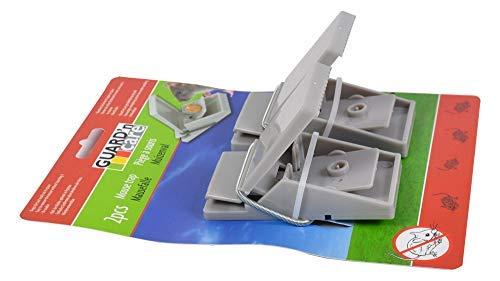 2er-Set Mausefalle 9x5cm Schlagfalle Mäusefalle Kunststoff Schädlingsbekämpfung
