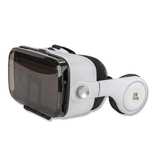 4smarts Spectator SOUND Universal VR-/AR-Brille mit integrierten Kopfhörern für Smartphone bis...