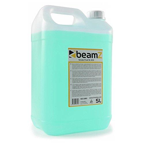 beamZ Nebelfluid • Nebelflüssigkeit • 5 Liter • CO2-Effekt • für mitteldichten Nebel • schnelle Dispersion • Geruchsneutral • umweltfreundlich • geeignet für alle beamZ Nebelmaschinen • grün