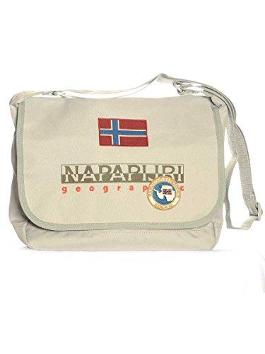 Borsa North Cape Slg Small Messenger Napapijri MainApps N51-Parchment