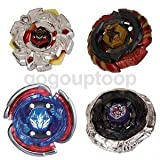 Best Beyblade Kits - Alcoa Prime SET OF 4 METAL FUSION MASTERS Review