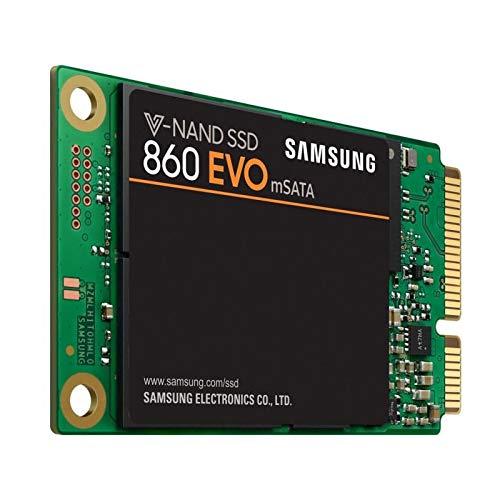 """Foto Samsung MZ-M6E1T0BW SSD 860 EVO MSATA, 1T, 2.5"""" SATA III, Verde/Nero"""