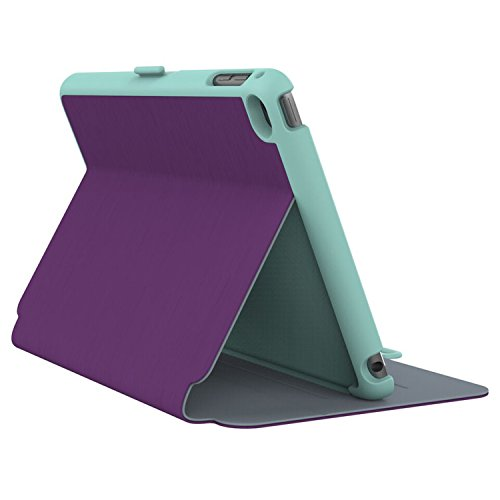 Speck Folio Hülle Case Cover für iPad Mini 4 Acai Purple/Aloe Green - Violett/Aloe Grün Ipad Mini Speck Folio