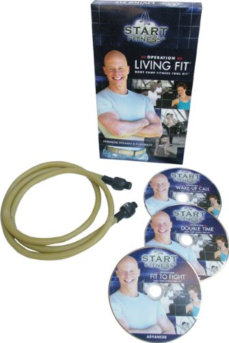 START Fitness Operation Living Fit Boot Camp Fitness Tool Kit - Boot-tools