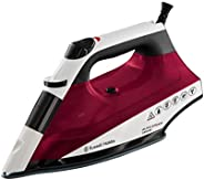 Russell Hobbs Auto Steam Iron Non Stick 2400W, 22520, Pink, 1 Year Brand Warranty