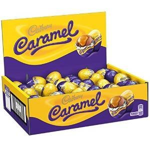 Cadbury Caramel Eggs (Box of 48) with irresistible gooey centre