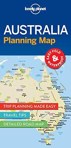 Australia Planning Map (Lonely Planet Planning Map) - Karte Von Australien