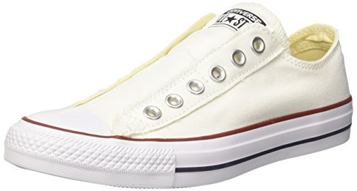 Converse Ct As Slip, Unisex-Erwachsene Sneakers, Weiß (Optical White), 35 EU - Chuck Taylor Slip