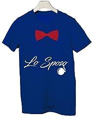 Idea Regalo - Tshirt Addio al Celibato Crew - Lo Sposo - Tutte Le Taglie by tshirteria