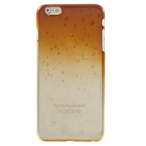 iPhone 6S Plus Fall, iPhone 6Plus, fogeek 3D Wassertropfen Farbverlauf Farbe Kunststoff Hard Cover Fall für iPhone 6S Plus/6PLUS, plastik, orange, iphone 6 Plus.iphone 6s Plus orange