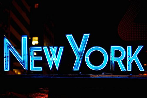 Poster Foundry NYPD Manhattan Midtown Times Square New York Foto-Kunstdruck 54x36 inches Poster