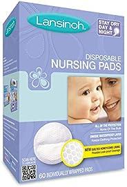 Lansinoh Disposable Nursing Pads, 60-Count