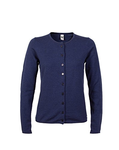 Dale of Norway - Cardigan da donna Marit, colore mélange navy, taglia L, 82391-C-L