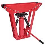 Timbertech Hydraulischer Rohrbieger Rohrbiegemaschine Bieger Rohrbiegegerät Pressdruck 12t bis zu 90° inkl. 6 Druckstücke