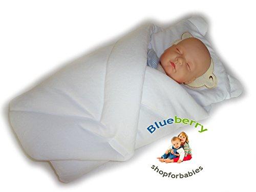 BlueberryShop Cálida Velour Sábana Almohada Manta