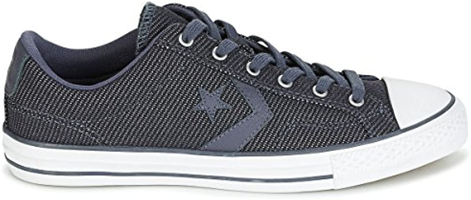 Converse Star Player Ox Medium Schuhe 43 Blau/Schwarz