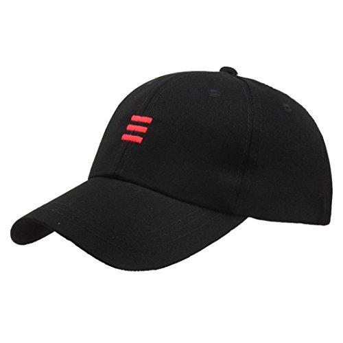 Hut ,Dragon868 Unisex Hüte Hip-Hop verstellbare Baseballmütze (Schwarz) (Baseball Nadelstreifen-hut)