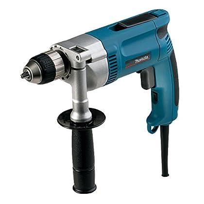 Makita DP3003J 1200RPM 710W 2200g Negro, Azul, Plata - Taladro eléctrico (1200 RPM, 1 cm, 3,2 cm, 36 Nm, 2,5 m/s², 710 W)