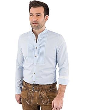 Hatico Mode Pure Trachtenhemd Herren Langarm C52610/21699 100