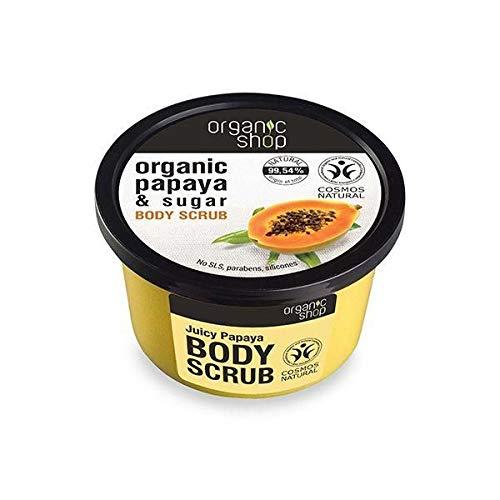 Exfoliante Corporal - Juicy Papaya - Organic Shop