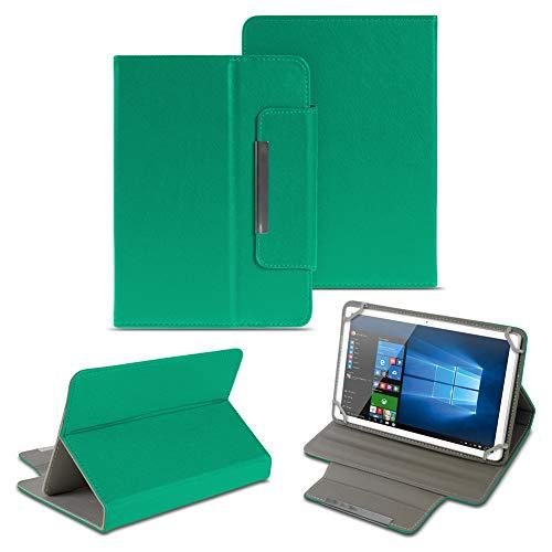 NAUC Universal Tasche Schutz Hülle 10-10.1 Zoll Tablet Schutzhülle Tab Case Cover Bag, Farben:Grün, Tablet Modell für:ARCHOS 101c Platinum