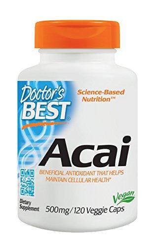 Doctor's Best, Best Açai, 500 mg, 120 Capsules végétales