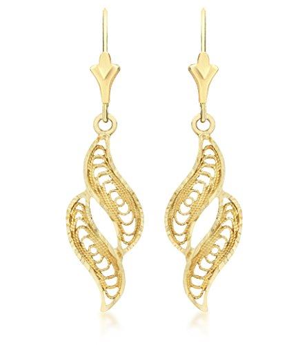 Carissima Gold Orecchini da Donna, Oro Giallo 9K (...