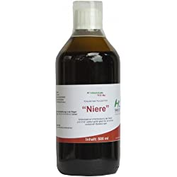 Niere Kräutertee Konzentrat mit Goldrute, Bärentraubenblätter, Ortosiphonblätter, Schachtelhalmkraut - 500 ml