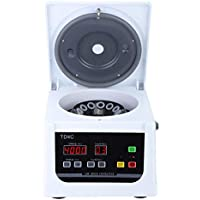 Centrífuga Eléctrica de Mesa, TD4C 4000R / min Tipo de Mesa Máquina Centrífuga Digital de Baja Velocidad Protección Automática Separador de Sangre para Laboratorio, Salón de Belleza(UE)