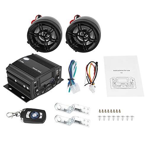 EBTOOLS Auto Motorrad Alarm Audio Sound System Stereo Lautsprecher Radio Mp3 Music Player ATV Fernbedienung Alarm Lautsprecher Roller Auto Stereo-sound-systeme