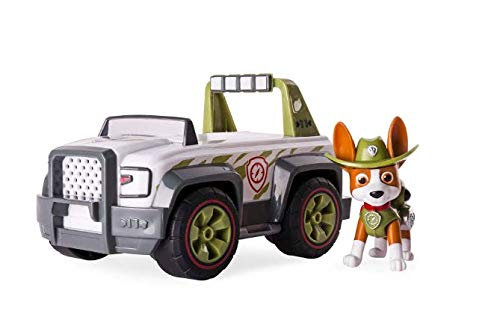 Nickelodeon Paw Patrol Tracker Dschungel Cruiser Fahrzeug und Figur