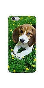 Cute Beagle iPhone 6 Plus/6S Plus Soft Case