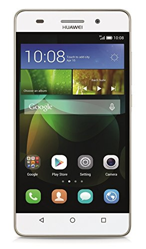 "Huawei G Play Mini - Smartphone de 5"" (Kirin 620 Octa Core 1.2 GHz, 2 GB de RAM, memoria interna de 8 GB, cámara de 13 MP, Android 4.4), color blanco"