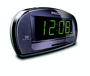philips aj3540 12 radio alarm clock electronics. Black Bedroom Furniture Sets. Home Design Ideas