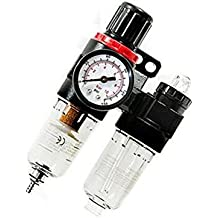 EULAGPRE AFC2000 Regulador del Filtro del Compresor de Aire de 1/4 de Pulgada Separador del Separador de Aceite de Agua