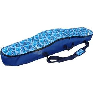 """WITAN SNOWBOARDTASCHE Snowboard Tasche Boardbag 155 / 165cm""""BERGA – Blau Blumen"""" #10"""