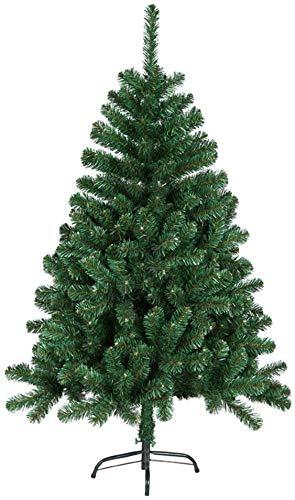 Aufun Künstlich Weihnachtsbaum 180cm Künstlicher Weinachts Baum Deko Tannenbaum Grün PVC mit Metallständer Weihnachtsdeko