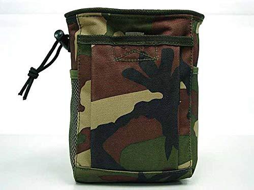 LSB-Hunting, Militärische Protable Molle Utility Jagd Zubehör Tactical Gun Magazine Dump Drop Reloader Heißer Beutel Tasche (Color : Woodland camo) -