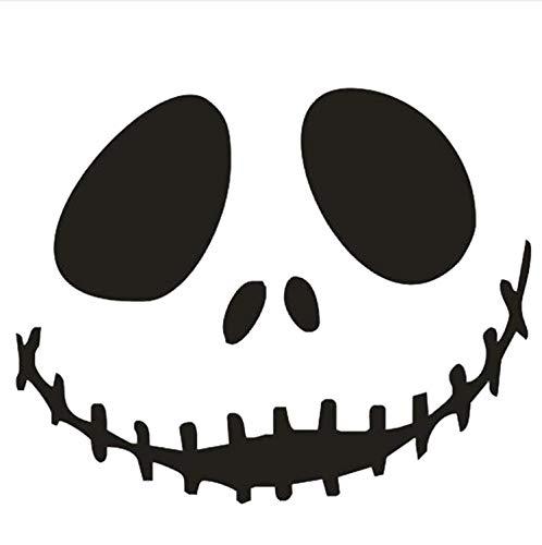 dajianyihao Unheimlich Lächeln Tapete Happy Halloween Home Haushalt Zimmer Wandaufkleber Wanddekor Aufkleber Abnehmbare Neue (Happy Unheimlich Halloween)