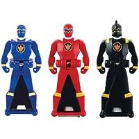 Power Rangers Super Megaforce Legendary Ranger Key Pack Dino Thunder Black+Blue 38266