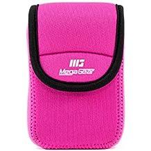 MegaGear MG782 - Funda de Neopreno con mosquetón para cámara Samsung WB35F/WB350F, Color Rosa