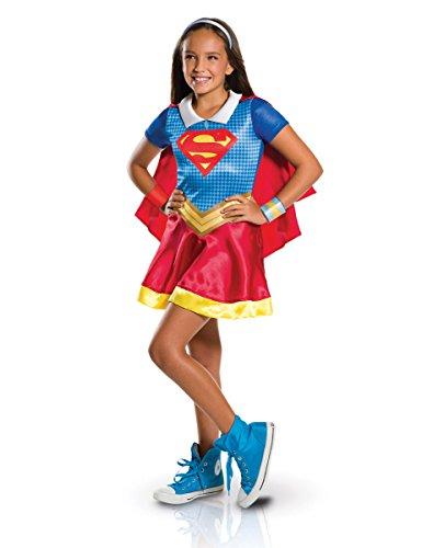 Supergirl-Kostüm für Mädchen (Supergirl Kostüm Weiß)