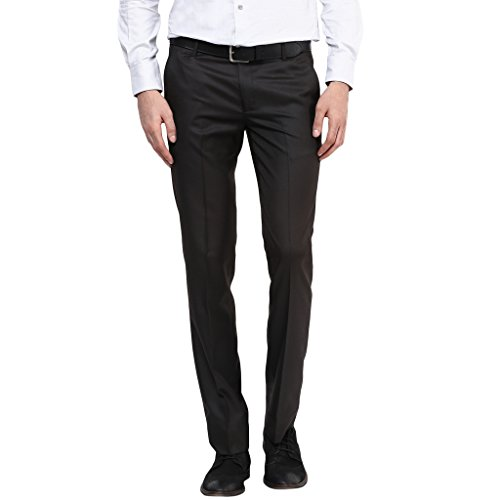 Routeen Premium dominos Coffee Slim Fit Formal Pants for Men  available at amazon for Rs.493