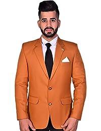 9f701187866 Amazon.in  Oranges - Suits   Blazers   Men  Clothing   Accessories