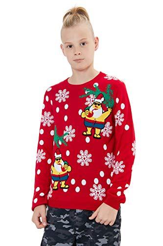 Loveternal Xmas Sweater Niño Niña Ugly...